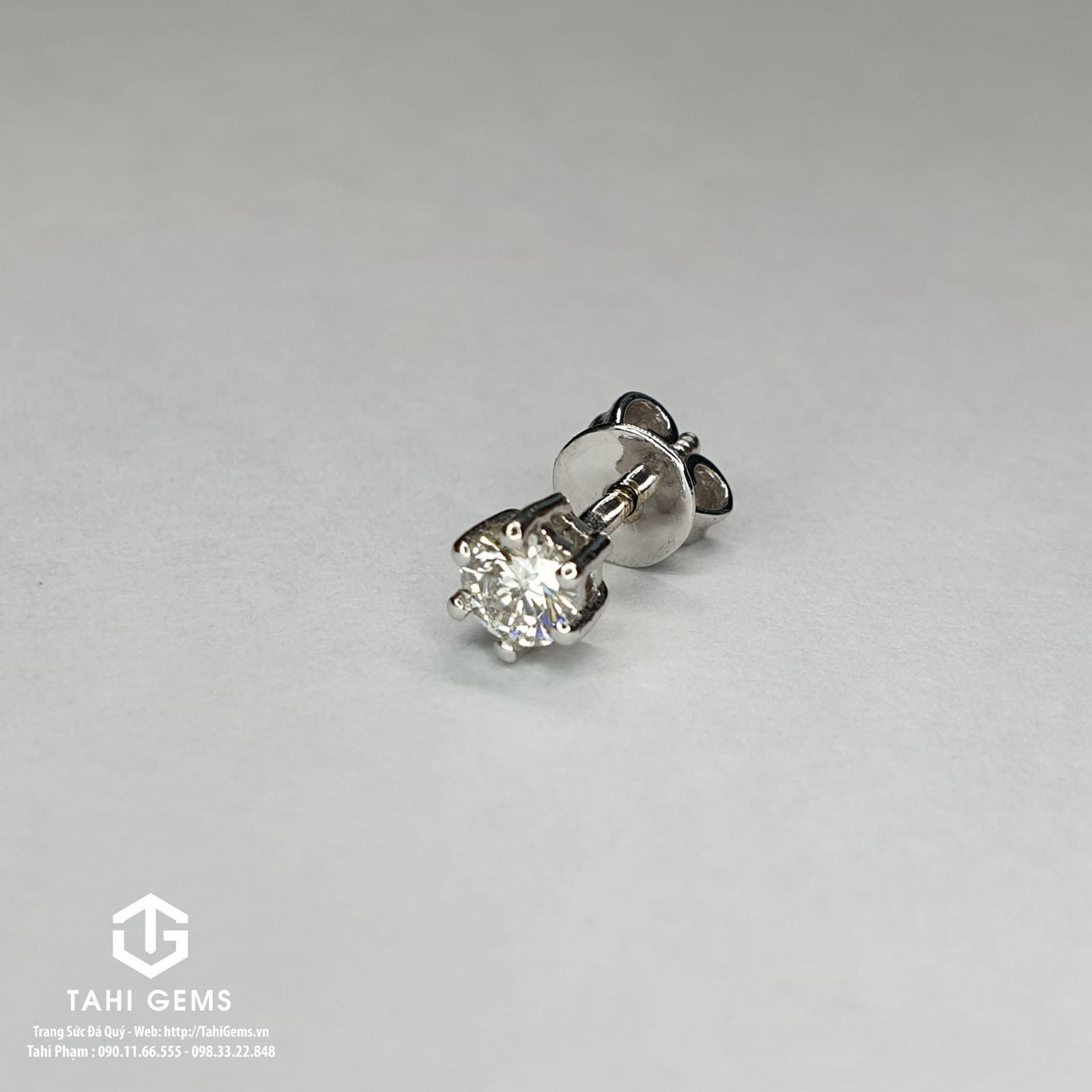 Tổng hợp mẫu bông tai kim cương đẹp tại Tahigems