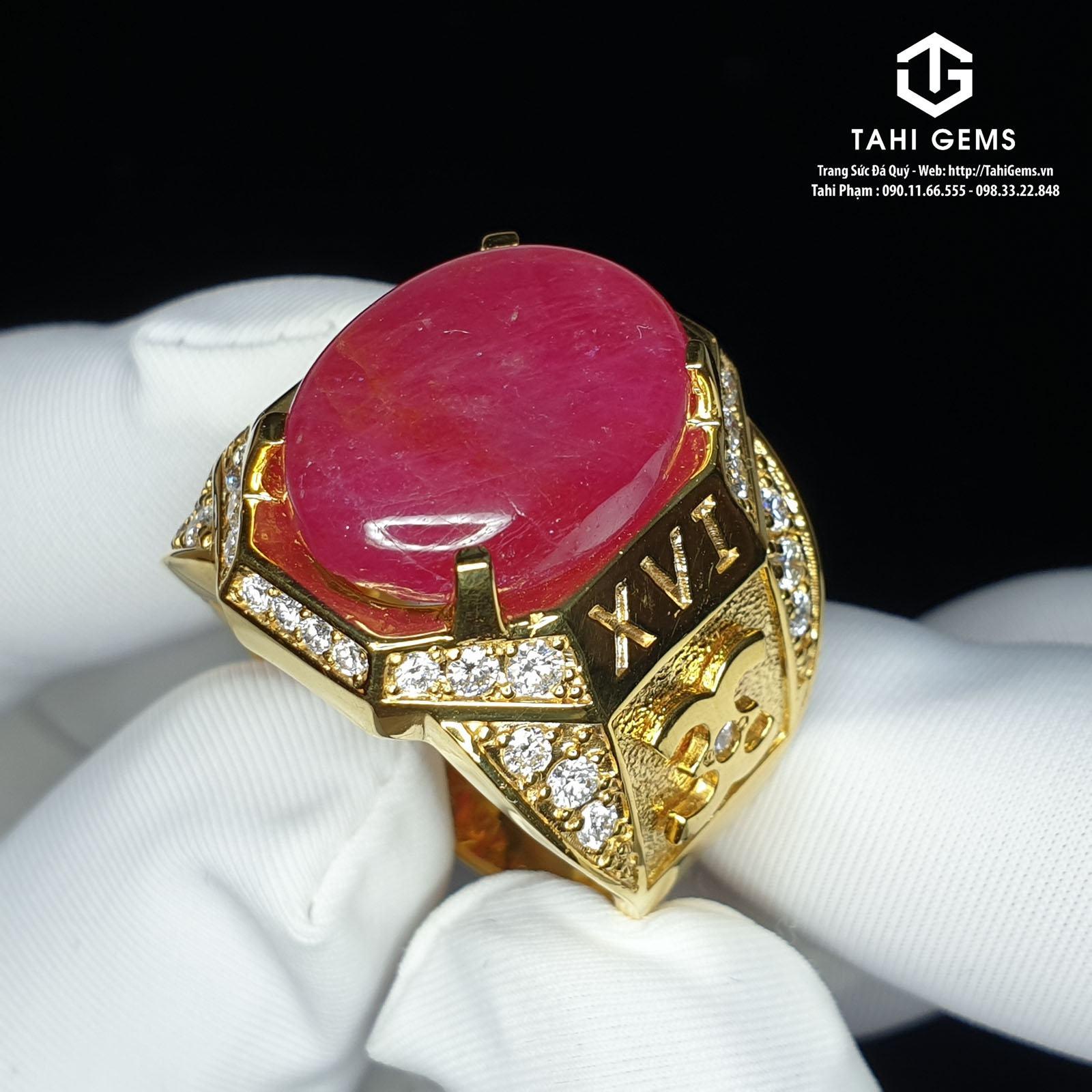 Ý nghĩa của đá ruby đỏ và đá ruby hồng